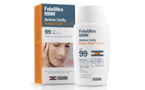 Foto Ultra ISDIN Active Unify Fusion Fluid Color Fps99 50ml