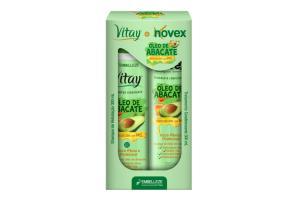 Kit Vitay + Novex Shampoo e Condicionador Óleo de Abacate 300ml