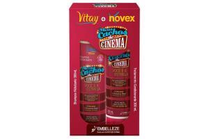 Kit Vitay + Novex Shampoo e Condicionador Meus Cachos de Cinema 300ml