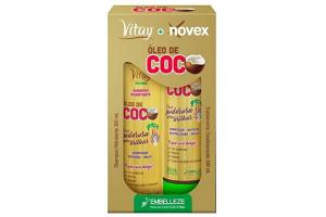 Kit Vitay + Novex Shampoo e Condicionador Óleo de Coco 300ml