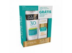Kit Protetor Solar L'Oréal Paris Supreme Protect 4 FPS 30 200ml Grátis Protetor Solar Facial Toque Seco FPS 30 25g