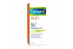 Protetor Solar Cetaphil Sun Loção Lipossomal FPS 50 150ml