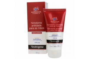 Hidratante Antiidade Para Mãos Com Glicerina Neutrogena Norwegian FPS 30 56g