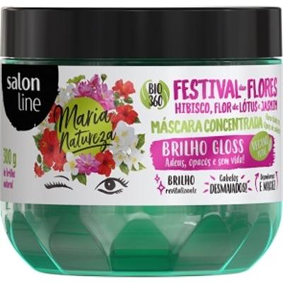 Máscara Salon Line Maria Natureza Festival de Flores 300g