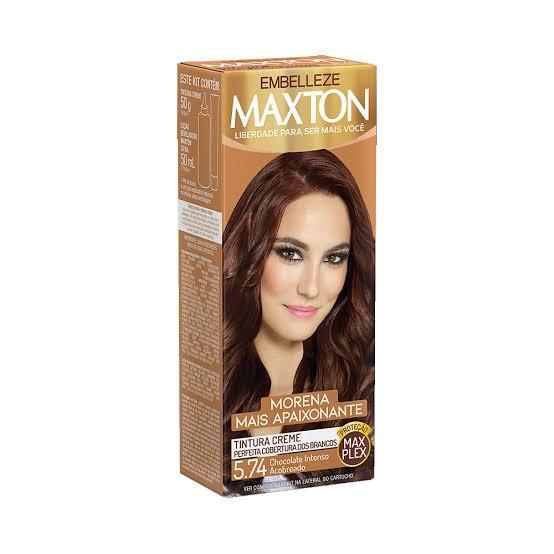 Tintura Maxton 5.74 Chocolate Intenso Acobreado