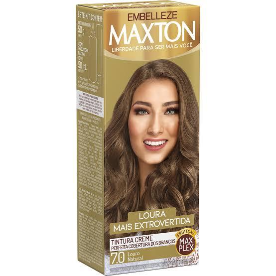 Tintura Maxton 7.0 Louro Natural