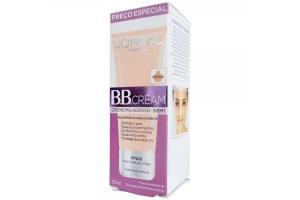 BB Cream L'Oréal Paris Creme Milagroso 5 em 1 Cor Média FPS 20 30ml