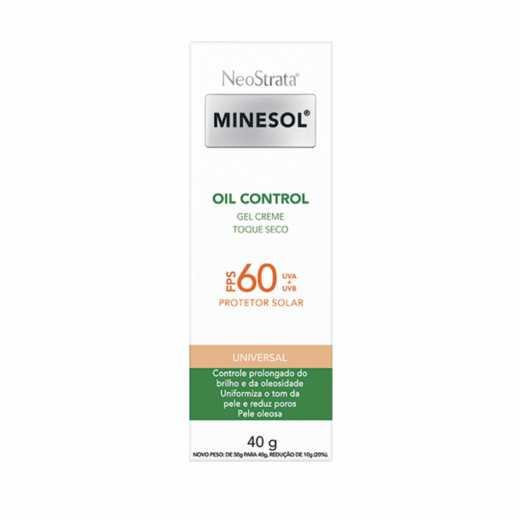Protetor Solar NeoStrata Minesol Oil Control FPS 60 Universal 40g