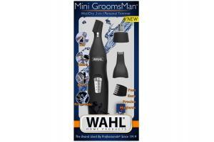 Aparador de Pelos Mini GroomsMan 3 em 1 Wahl