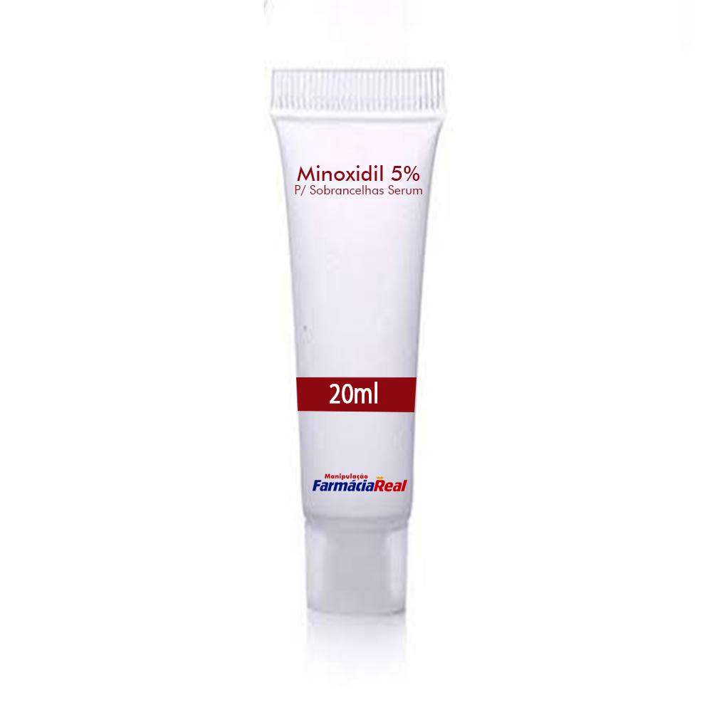 Minoxidil Serum 5% Para Sobrancelhas 10ml