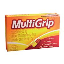 MultiGrip Contém 20 Cápsulas