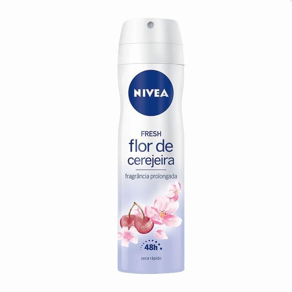 Desodorante Aerosol Nivea Flor de Cerejeira 150ml