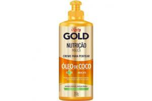 Creme Para Pentear Niely Gold Nutrição Mágica Óleo de Coco + Abacate 250g