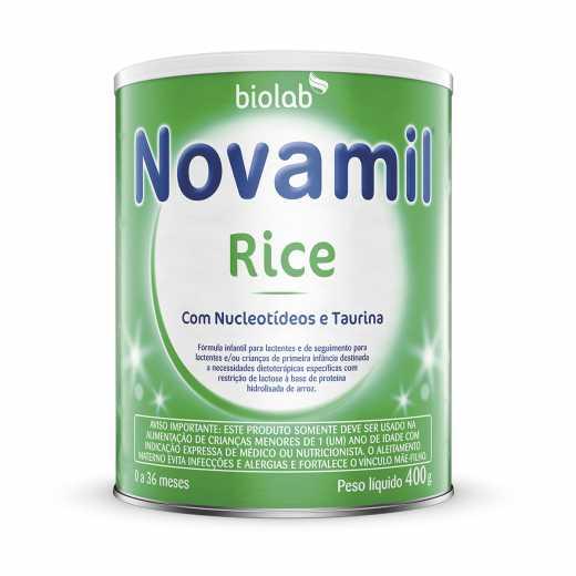 Novamil Rice 400g Biolab