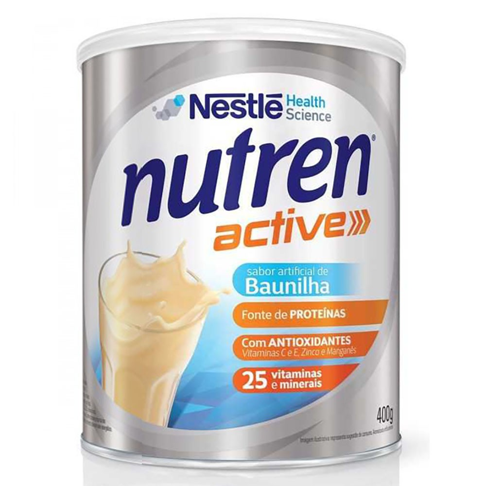 Nutren Active Sabor Baunilha 400g Nestlé