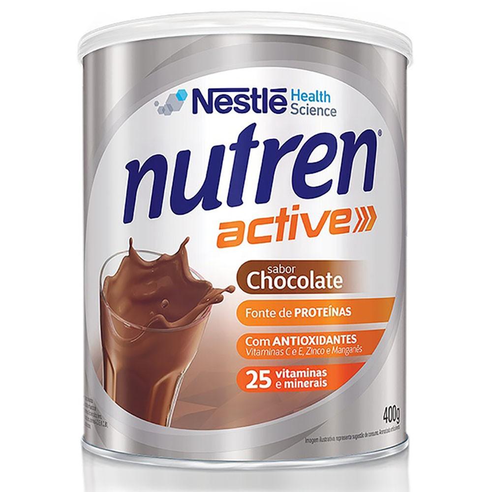 Nutren Active Sabor Chocolate 400g Nestlé