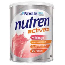 Nutren Active Sabor Morango 400g Nestlé