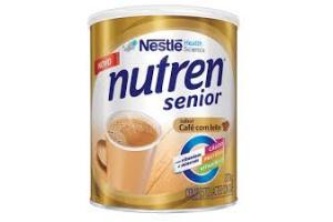 Nutren Senior Sabor Café Com Leite 370g Nestlé