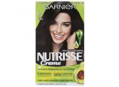Tintura Garnier Nutrisse Creme 10 Preto Ônix
