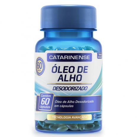 Oleo de Alho Catarinense Com 60 Capsulas
