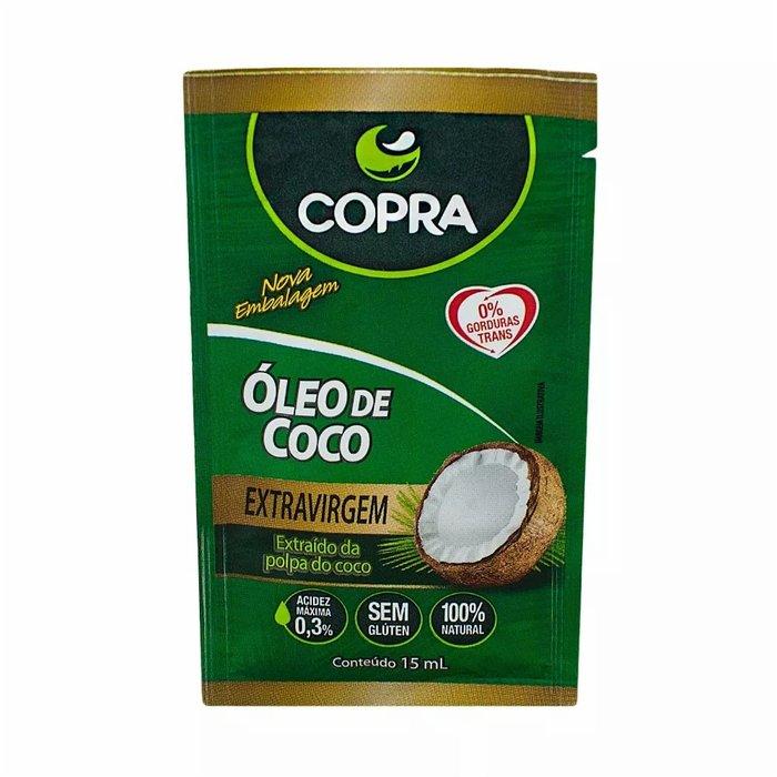 Oleo de Coco Copra Extra Virgem Sache 15ml