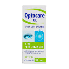 Lubrificante Oftálmico Optocare UL Estéril Conteudo 10ml