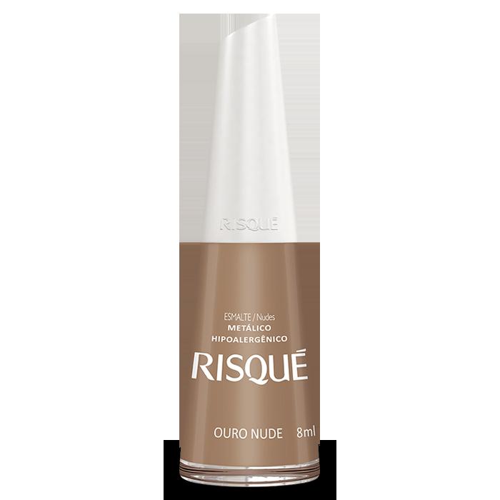 Esmalte Risqué Ouro Nude 8ml