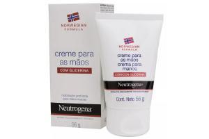 Creme Para Mãos Com Glicerina Neutrogena Norwegian 56g