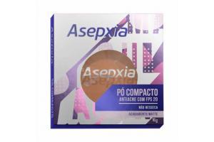 Pó Compacto Asepxia Bege Escuro 10g