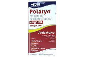 Polaryn 2mg/5mL Solução Oral Sabor Framboesa Contém 100ml