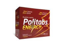 Politabs Energy Com 60 Cápsulas