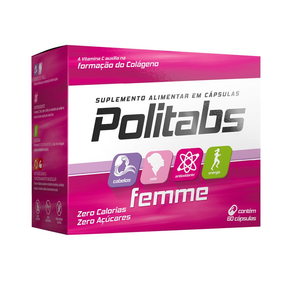 Politabs Femme Com 60 Cápsulas