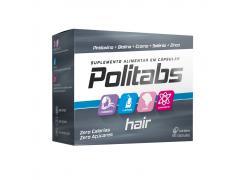 Politabs Hair Com 60 Cápsulas