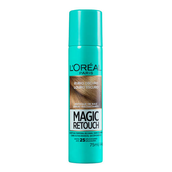 Retoque de Raiz Spray Magic Retouch L'Oréal Paris Louro Escuro 75ml