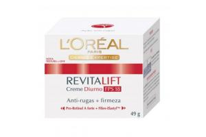 Creme Facial L'Oréal Revitalift Diurno FPS 18 49g