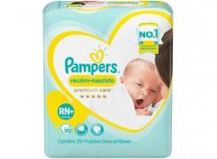Fralda Pampers Premium Care RN+ Com 20 Unidades