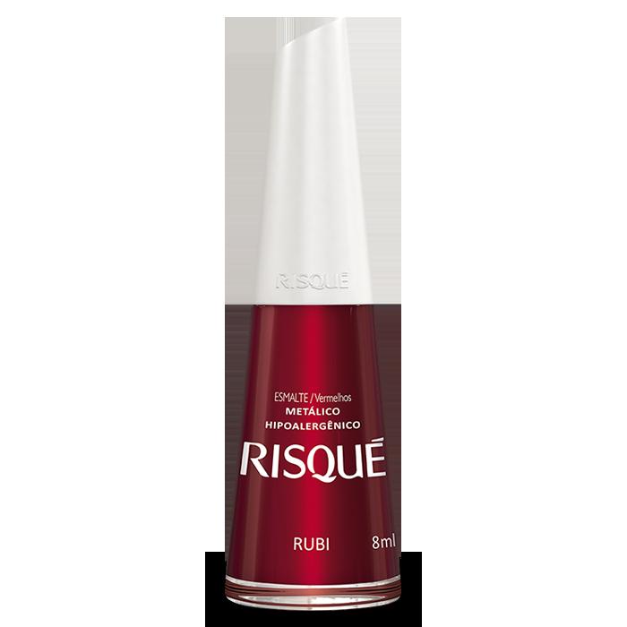Esmalte Risqué Rubi 8ml