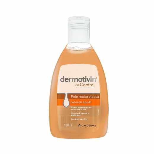 Sabonete Líquido Dermotivin Oil Control 120ml
