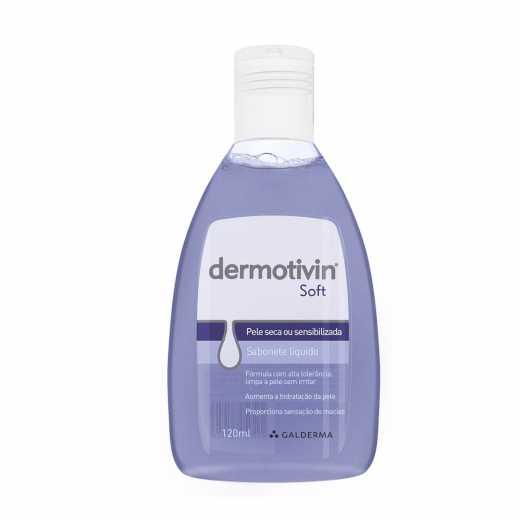 Sabonete Líquido Dermotivin Soft 120ml