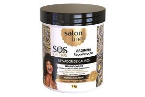 Ativador de Cachos Salon Line S.O.S Cachos Arginina Reconstrução 1kg