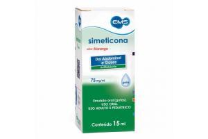 simeticona Gotas 75mg/ml Com 15ml Genérico EMS