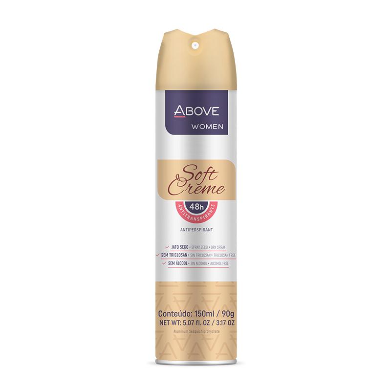 Desodorante Aerosol Above Sofr Creme Women 150ml