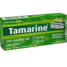 Tamarine 12mg Senosídeos Com 20 Cápsulas Nova Concentração