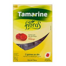 Tamarine Fibras Sabor Morango Contém 14 Gomas