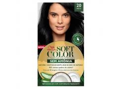 Tonalizante Soft Color 20 Preto
