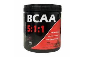 BCAA 5:1:1 Sabor Morango Com 300g Health Labs
