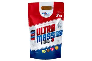 Hipercalórico Ultra Mass Gainer Absolut Nutrition  3kg Sabor Morango