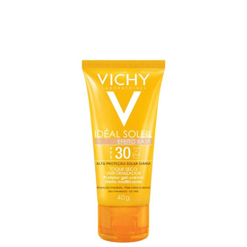 Protetor Solar Facial Vichy Idéal Soleil Efeito Base FPS 30 40g